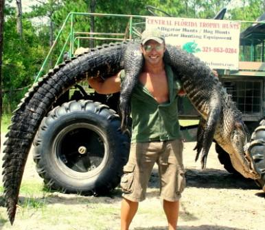 Gator Trophy Hunts in Florida