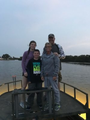 Bowfishing Family Fun in Central Florida