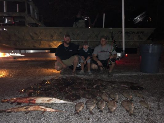 Awesome haul by the time it was all over. We battled the rain in the first hour