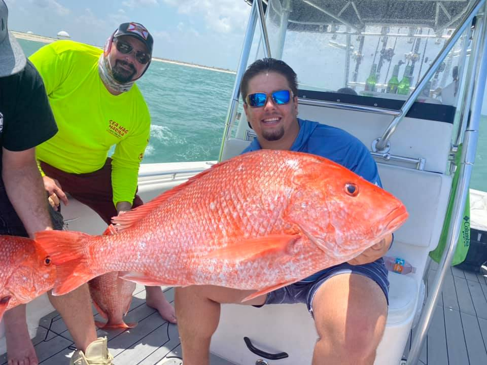 We do offshore too! Red snapper season was a success  ———————————————————————  V