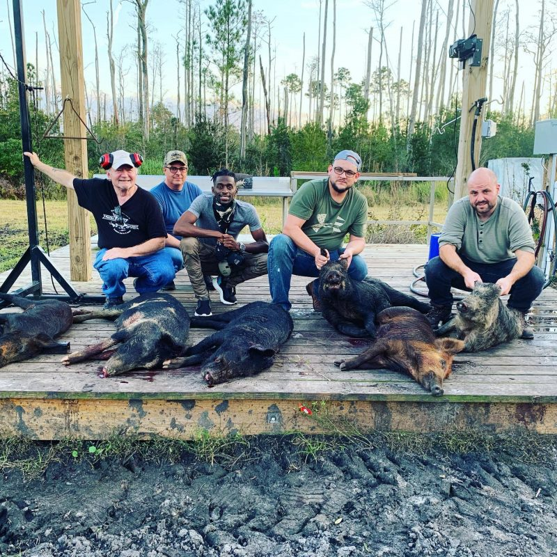 Excellent hunt this afternoon!!! We had some first time shoo...