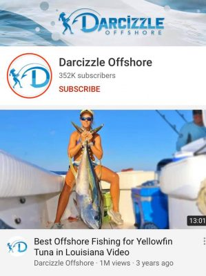 Very excited to have Darcizzle Offshore with us today on our...