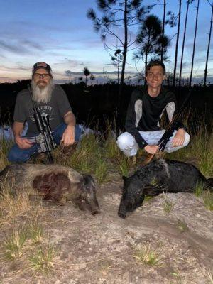 Fantastic Grandfather and Grandson hunt.