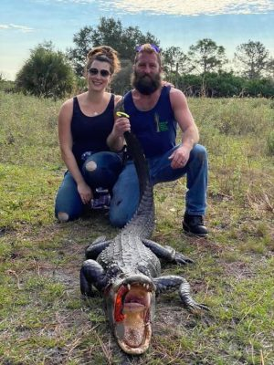 Last Gator of 2019 with this couple from New Hampshire.