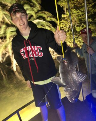 The Bowfishing is on fire!  Had a ton of fun last night with...