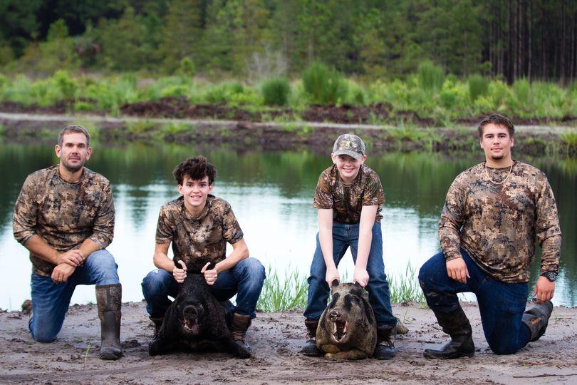 We're going hog wild today for brand ambassador Jon's hunt ...