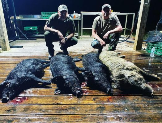 Great overnight hunts with these guys from PA.