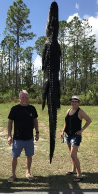 Another great hunt and frog gigging trip with this couple fr...