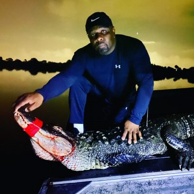 Great Gator Hunt tonight with Charles and his family!!