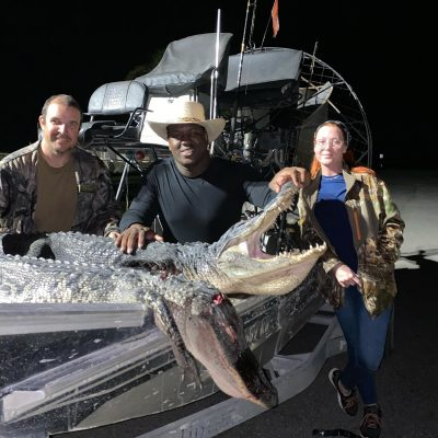Busy two days of gator hunting and met some great new hunter...