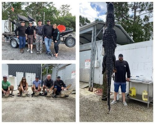 Great Hunt with the Tenacious Charters Crew and friends.