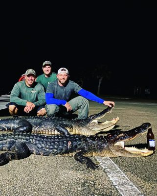 The count down is on!! Last week of the public gator season ...