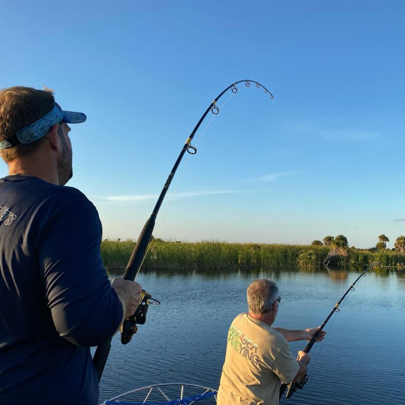 This year marks Tim and Suzanne's 15th year of gator hunting...