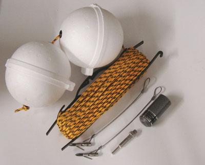 Aluminum Base Harpoon Kit