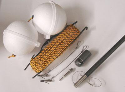 Aluminum Base Harpoon Kit/Bangstick Combo