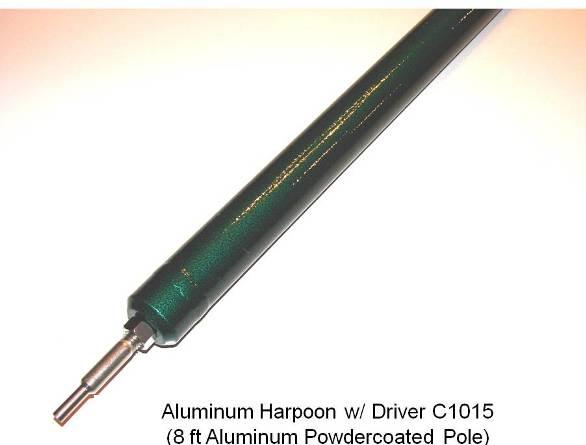 Aluminum Harpoon w/ driver