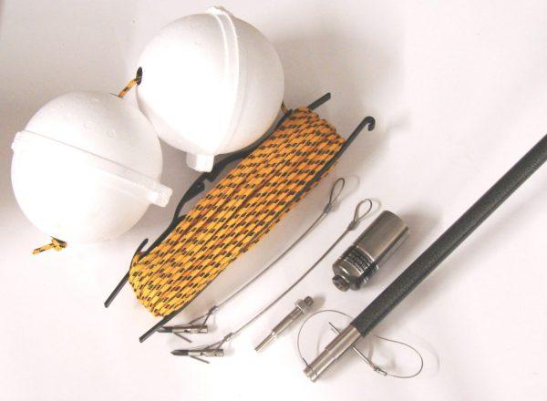 Stainless Base Harpoon Kit/Bangstick Combo